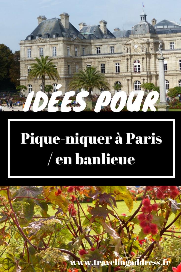 Pique niquer les endroits r v s en banlieue parisienne travelingaddress - Lieux de pique nique en ile de france ...