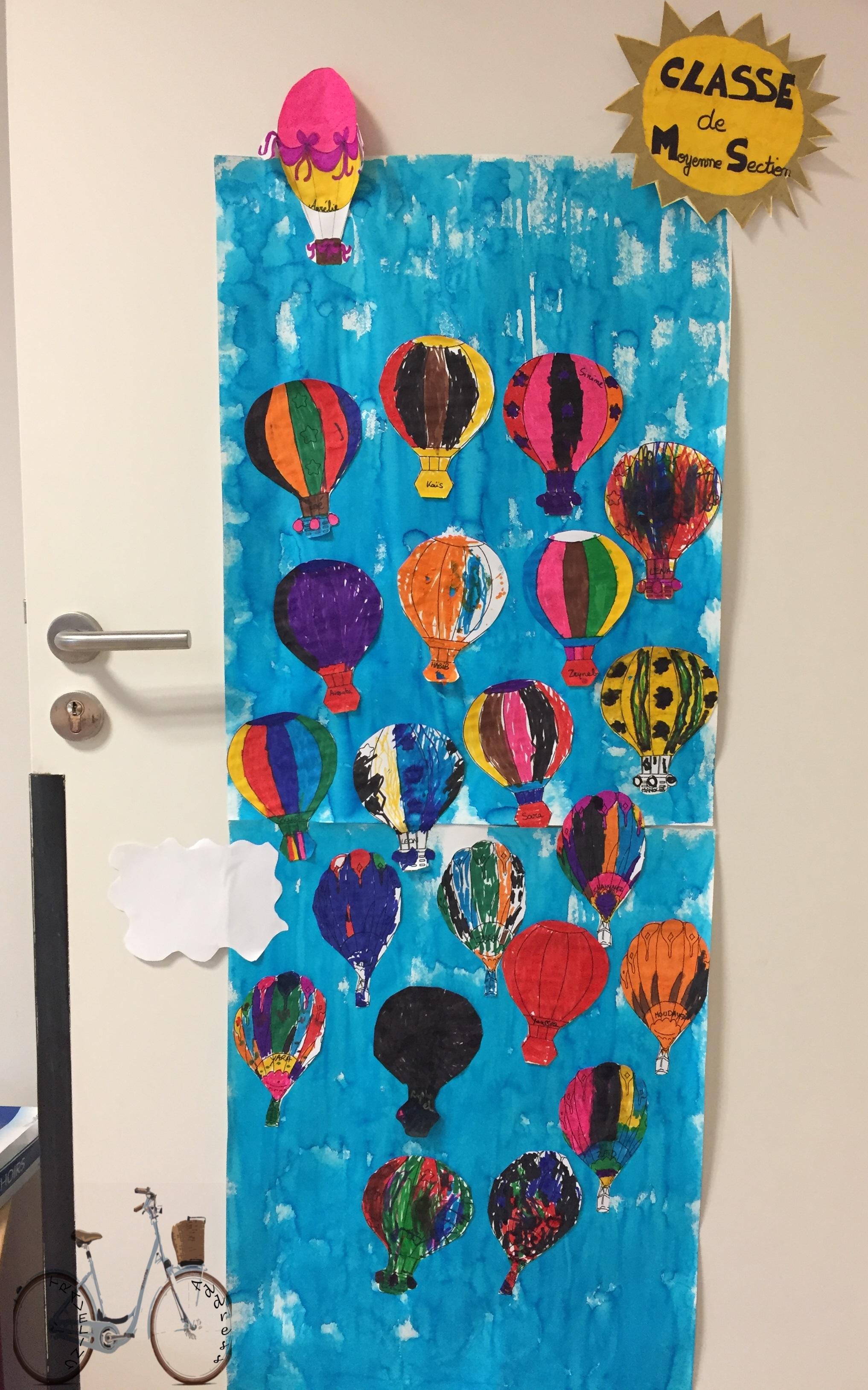 Decoration Porte Classe : Affiche décoration porte de classe thème voyage